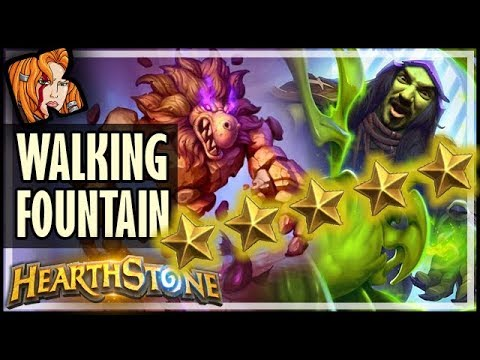 Walking Fountain Is FIVE STARS ⭐⭐⭐⭐⭐ - Rise of Shadows Hearthstone