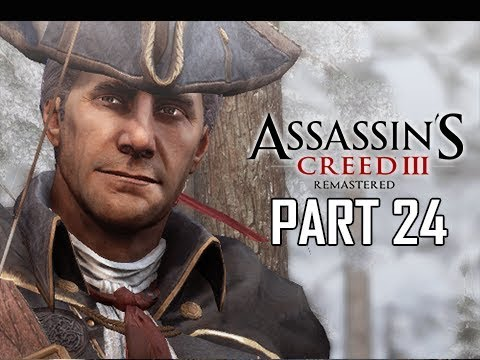ASSASSIN'S CREED 3 REMASTERED Walkthrough Part 24 -  (AC3 100% Sync Let's Play )
