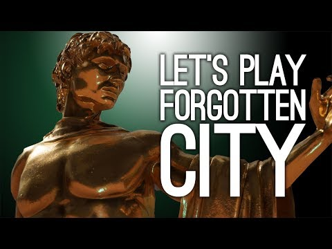 The Forgotten City Gameplay - SPOOKY STATUE SHOWDOWN - Let's Play The Forgotten City