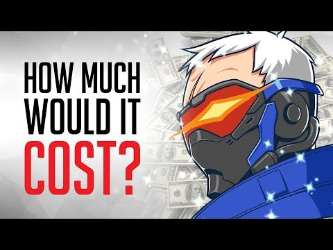 How Much Would it Cost to Be Soldier 76?