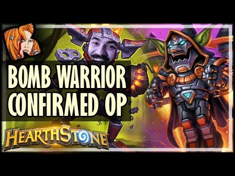 💣💣💣 BOMB WARRIOR CONFIRMED OP - Rise of Shadows Hearthstone