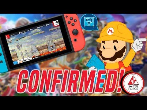 Stage Builder Confirmed For Super Smash Bros Ultimate!