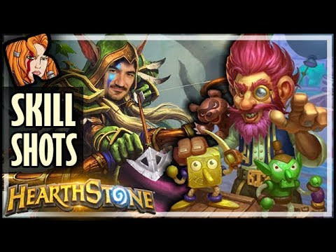Skill Shots With JEPETTO Hunter! - Rise of Shadows Hearthstone