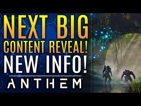 Anthem - The Next Big Content DLC Reveal: New Updates From Bioware!