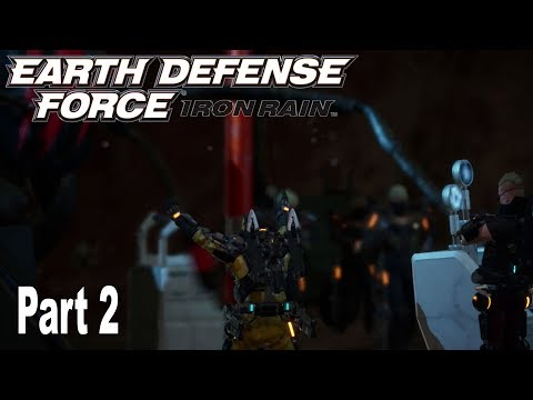 Earth Defense Force: Iron Rain - Story Walkthrough Part 2 No Commentary [HD 1080P]