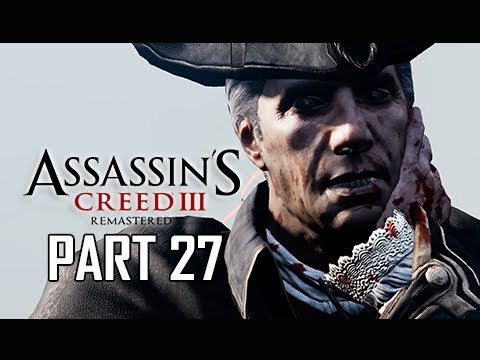 ASSASSIN'S CREED 3 REMASTERED Walkthrough Part 27 - Patricide (AC3 100% Sync Let's Play )