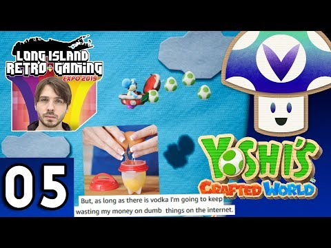[Vinesauce] Vinny - Yoshi's Crafted World (part 5)