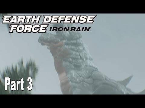 Earth Defense Force: Iron Rain - Story Walkthrough Part 3 No Commentary [HD 1080P]
