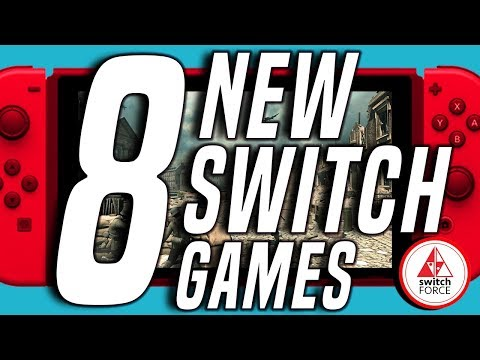 8 WEIRD NEW Switch Games JUST ANNOUNCED!! (2019 Nintendo Switch Games)