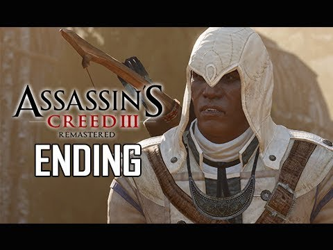 ASSASSIN'S CREED 3 REMASTERED Walkthrough Part 28 - ENDING + EPILOGUE (AC3 100% Sync Let's Play )