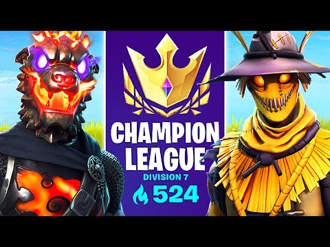ARENA MODE CHAMPION LEAGUE!! // Pro Fortnite Player // 575+ Points (Fortnite Battle Royale)