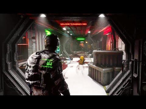 NEGATIVE ATMOSPHERE Gameplay Demo (DEAD SPACE like Horror Game 2019)