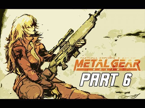 METAL GEAR SOLID Gameplay Walkthrough Part 6 - Sniper Wolf (RETRO PSX Classic)