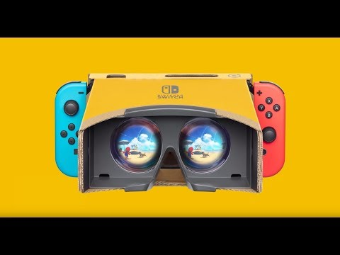 Nintendo Switch LABO VR Unboxing + Setup!