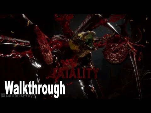 Mortal Kombat 11 - D'Vorah Gameplay Walkthrough [HD 1080P]