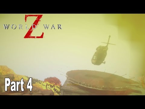 World War Z - Walkthrough Part 4 No Commentary Jerusalem [HD 1080P]