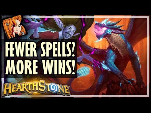 FEWER SPELLS? MORE WINS! - Rise of Shadows Hearthstone