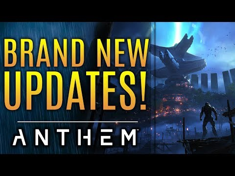 Anthem - New Updates! April Update Bigger Than Just Sunken Stronghold. State of Bioware!