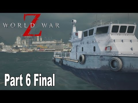 World War Z - Walkthrough Part 6 Final No Commentary Tokyo [HD 1080P]