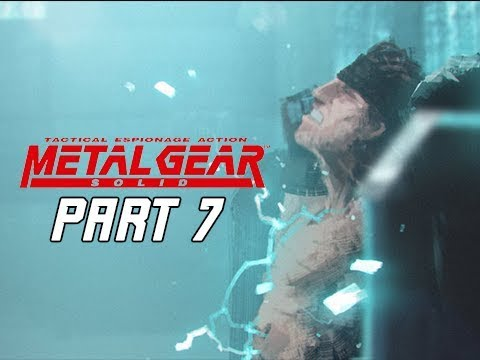 METAL GEAR SOLID Gameplay Walkthrough Part 7 - Ocelot's Table (RETRO PSX Classic)