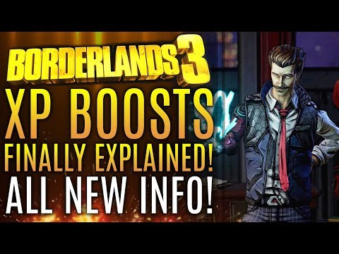 Borderlands 3 - New Updates! XP Boosts Fully Explained! Microtransactions? New Gameplay Info!