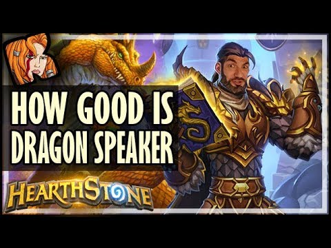🐉 How Good Is DRAGON SPEAKER? - Rise of Shadows Hearthstone