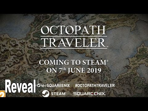 Octopath Traveler - PC Reveal Trailer [HD 1080P]