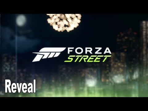 Forza Street - Reveal Trailer [4K 2160P]