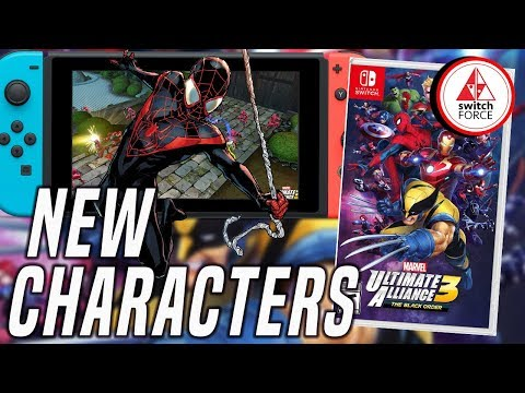 New Marvel Ultimate Alliance 3 Characters Revealed + Release Date And Box Art!