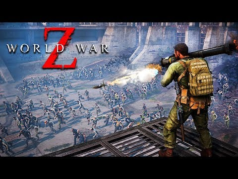 ZOMBIE SURVIVAL GAME!! (World War Z)