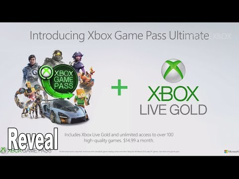 Xbox Game Pass Ultimate - Reveal and Details [HD 1080P]
