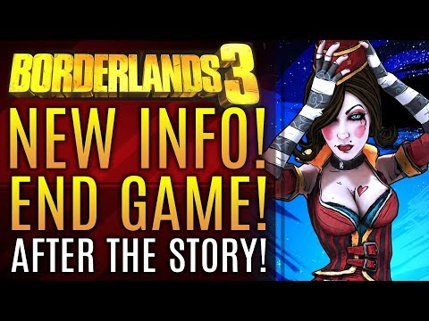 Borderlands 3 - New Info! End Game Content & DLC!  New Gameplay Info! New Anthem Update!
