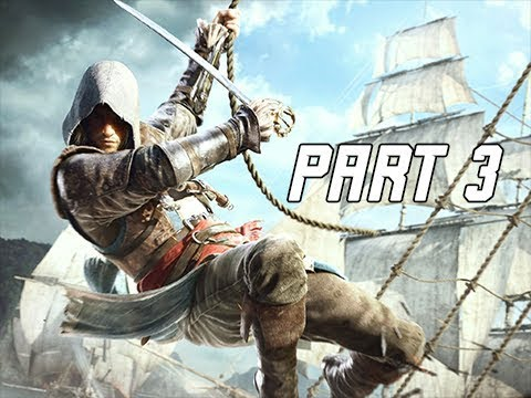 Assassin's Creed 4 Black Flag Walkthrough Part 3 - Jackdaw (PC AC4 Let's Play)