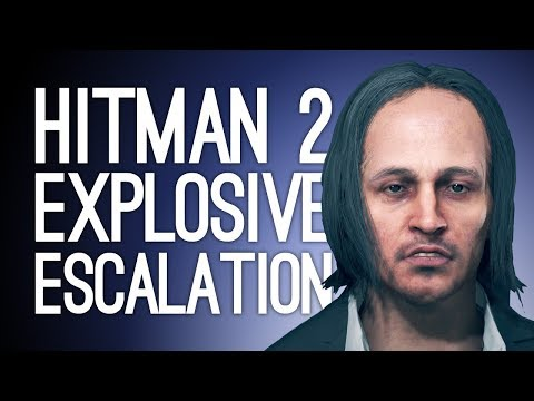 Hitman 2 Escalation Gameplay: CHAOS IS A LADDER (Let's Play The Turms Infatuation Escalation)