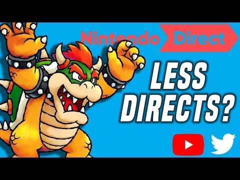 Will There Be LESS Nintendo Directs Going Forward?