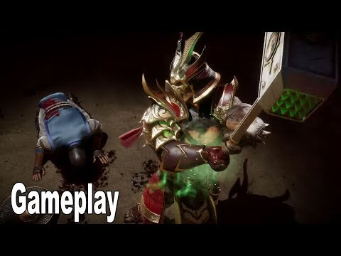 Mortal Kombat 11 - Shao Kahn Gameplay Trailer [HD 1080P]