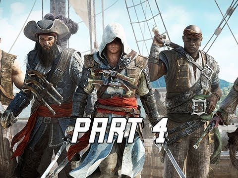 Assassin's Creed 4 Black Flag Walkthrough Part 4 - Captains (PC AC4 Let's Play)