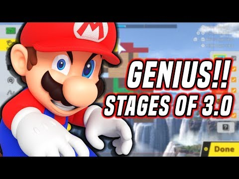 The GENIUS Stages of Smash Bros. Ultimate 3.0 (Nintendo Servers Down?)