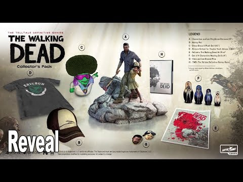 The Walking Dead: The Telltale Definitive Series - Reveal Trailer [HD 1080P]