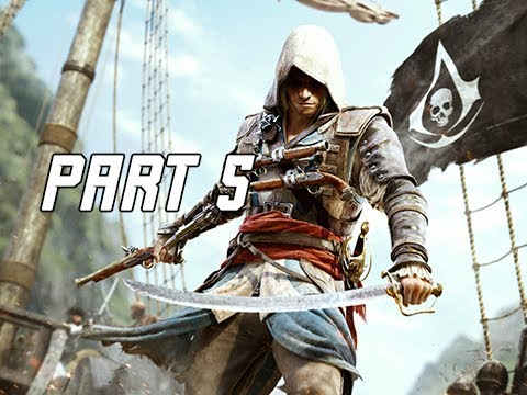 Assassin's Creed 4 Black Flag Walkthrough Part 5 - Proper Defenses (PC AC4 Let's Play)