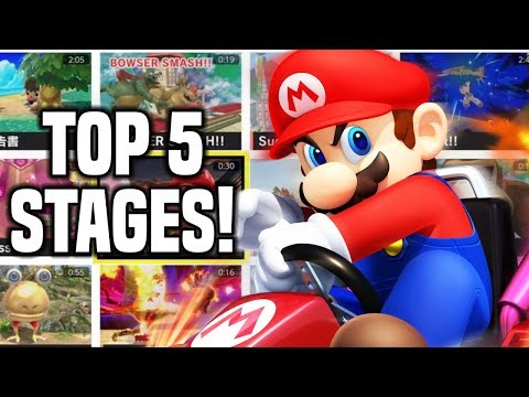 Top 5 Stages So Far! Smash Bros Ultimate Stage Builder
