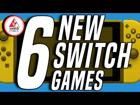 6 Fun NEW Switch Games JUST ANNOUNCED!! (2019 Nintendo Switch Games)