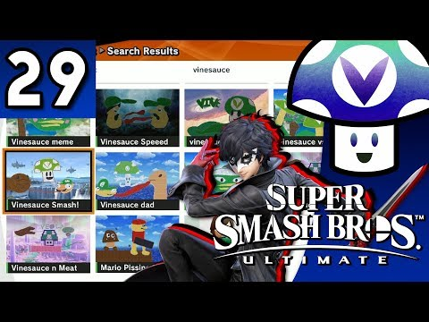 [Vinesauce] Vinny - Super Smash Bros. Ultimate: Joker & Stage Builder Update (part 29)