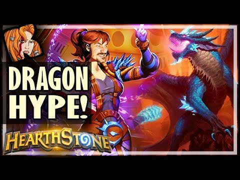 🐉 DRAGON MAGE LIVES UP TO THE HYPE - Rise of Shadows Hearthstone