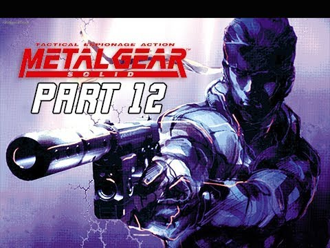 METAL GEAR SOLID Gameplay Walkthrough Part 12 - Naomi Hunter (RETRO PSX Classic)