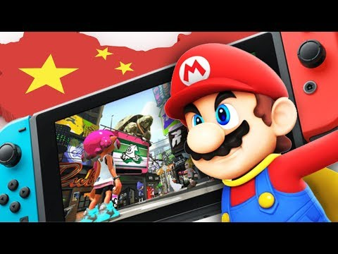 Nintendo Switch FINALLY Hits China...With ONE Game!