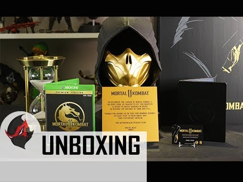 MORTAL KOMBAT 11 KOLLECTOR'S EDITION Unboxing & Review (Collector's Edition)