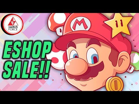 GREAT NEW Switch eShop Sale for Spring! All Sorts of Games, DON'T WAIT!