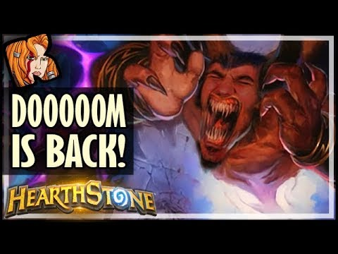 DOOOOOOOM IS BACK! - Rise of Shadows Hearthstone