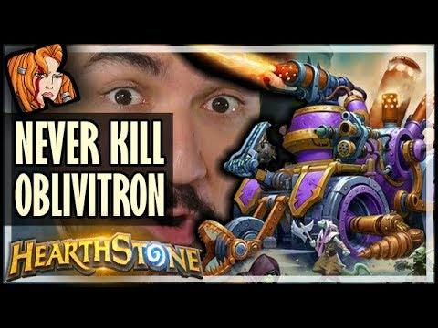 NEVER KILL OBLIVITRON - Rise of Shadows Hearthstone